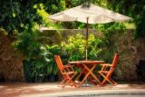 Parasol Bases For Outdoor Umbrellas (Cantilever, Patio Tables & Stand-Alone)